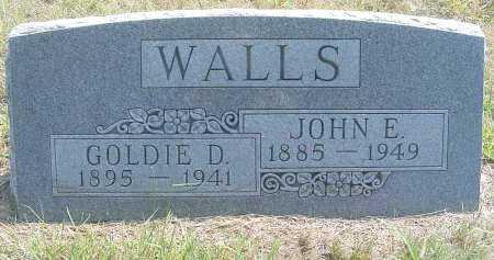 WALLS, JOHN E. - Garden County, Nebraska | JOHN E. WALLS - Nebraska Gravestone Photos