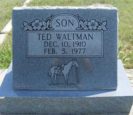 WALTMAN, TED - Garden County, Nebraska | TED WALTMAN - Nebraska Gravestone Photos