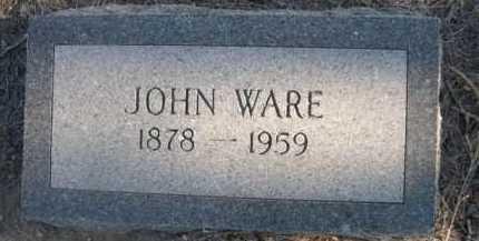 WARE, JOHN - Garden County, Nebraska | JOHN WARE - Nebraska Gravestone Photos