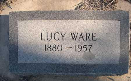 WARE, LUCY - Garden County, Nebraska   LUCY WARE - Nebraska Gravestone Photos