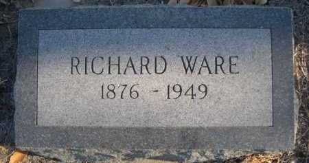WARE, RICHARD - Garden County, Nebraska | RICHARD WARE - Nebraska Gravestone Photos