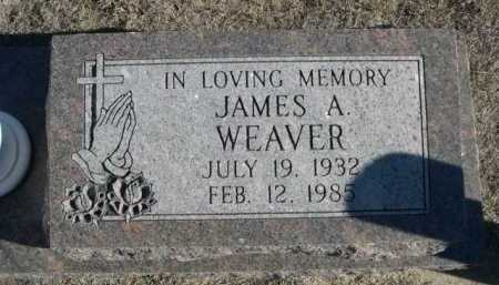 WEAVER, JAMES A. - Garden County, Nebraska | JAMES A. WEAVER - Nebraska Gravestone Photos
