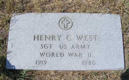 WEST, HENRY C. - Garden County, Nebraska | HENRY C. WEST - Nebraska Gravestone Photos