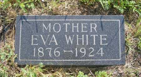WHITE, EVA - Garden County, Nebraska | EVA WHITE - Nebraska Gravestone Photos