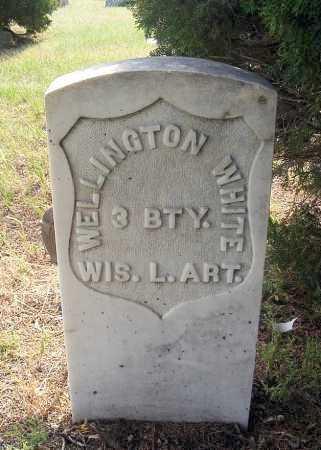 WHITE, WELLINGTON - Garden County, Nebraska | WELLINGTON WHITE - Nebraska Gravestone Photos