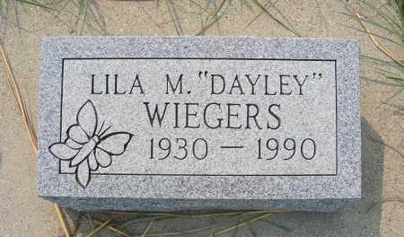 WIEGERS, LILA M. - Garden County, Nebraska | LILA M. WIEGERS - Nebraska Gravestone Photos