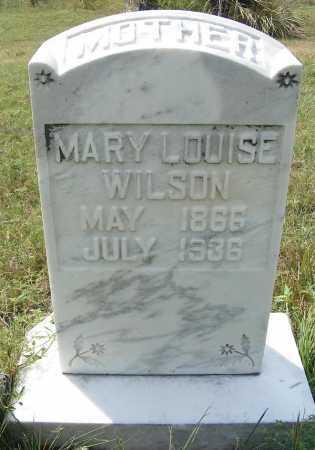 WILSON, MARY LOUISE - Garden County, Nebraska   MARY LOUISE WILSON - Nebraska Gravestone Photos