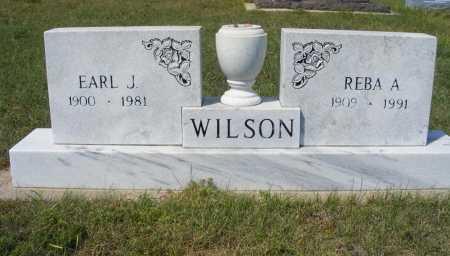 WILSON, REBA A. - Garden County, Nebraska | REBA A. WILSON - Nebraska Gravestone Photos