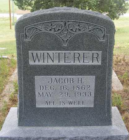 WINTERER, JACOB H. - Garden County, Nebraska | JACOB H. WINTERER - Nebraska Gravestone Photos