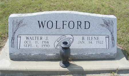 WOLFORD, WALTER J. - Garden County, Nebraska | WALTER J. WOLFORD - Nebraska Gravestone Photos