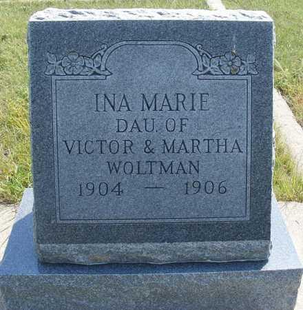 WOLTMAN, INA MARIE - Garden County, Nebraska | INA MARIE WOLTMAN - Nebraska Gravestone Photos