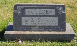 HOULDEN, MICHAEL E. - Gosper County, Nebraska   MICHAEL E. HOULDEN - Nebraska Gravestone Photos