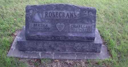 DYER ROSECRANS, BERTHA - Gosper County, Nebraska | BERTHA DYER ROSECRANS - Nebraska Gravestone Photos