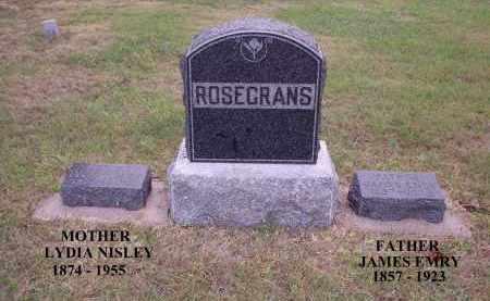 ROSECRANS, JAMES EMRY (EMERY) - Gosper County, Nebraska | JAMES EMRY (EMERY) ROSECRANS - Nebraska Gravestone Photos