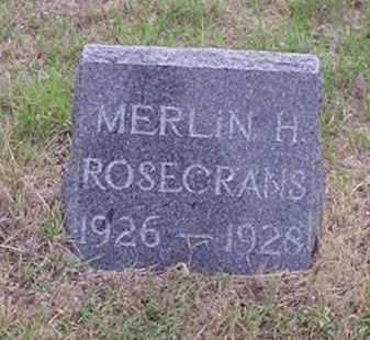 ROSECRANS, MERLIN HENRY - Gosper County, Nebraska   MERLIN HENRY ROSECRANS - Nebraska Gravestone Photos