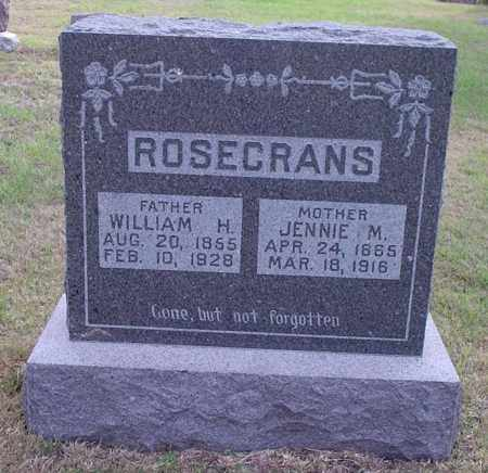 ROSECRANS, WILLIAM HENRY - Gosper County, Nebraska | WILLIAM HENRY ROSECRANS - Nebraska Gravestone Photos