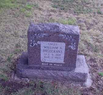 ROSECRANS, WILLIAM ARTHUR - Gosper County, Nebraska | WILLIAM ARTHUR ROSECRANS - Nebraska Gravestone Photos