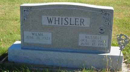 WHISLER, RUSSELL - Gosper County, Nebraska | RUSSELL WHISLER - Nebraska Gravestone Photos