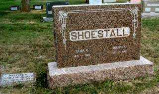 SHOESTALL, JOSEPH - Gosper County, Nebraska | JOSEPH SHOESTALL - Nebraska Gravestone Photos