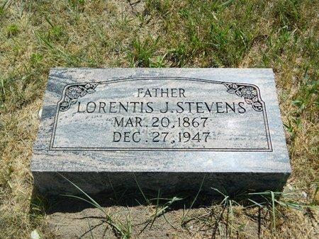 STEVENS, LORENTIS JOHN - Grant County, Nebraska | LORENTIS JOHN STEVENS - Nebraska Gravestone Photos