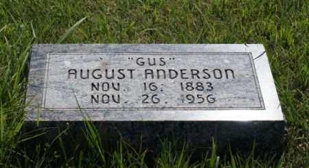 ANDERSON, AUGUST - Greeley County, Nebraska   AUGUST ANDERSON - Nebraska Gravestone Photos