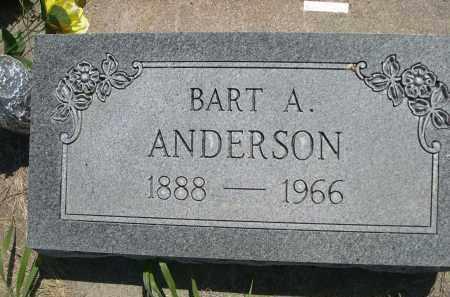 ANDERSON, BART A. - Greeley County, Nebraska | BART A. ANDERSON - Nebraska Gravestone Photos