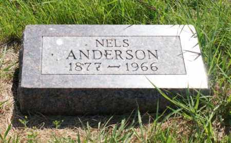 ANDERSON, NELS - Greeley County, Nebraska | NELS ANDERSON - Nebraska Gravestone Photos
