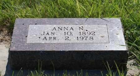 BJORKLUND, ANNA N. - Greeley County, Nebraska | ANNA N. BJORKLUND - Nebraska Gravestone Photos
