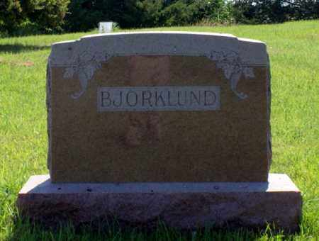 BJORKLUND, FAMILY - Greeley County, Nebraska | FAMILY BJORKLUND - Nebraska Gravestone Photos