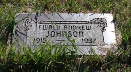 JOHNSON, EWALD ANDREW - Greeley County, Nebraska   EWALD ANDREW JOHNSON - Nebraska Gravestone Photos