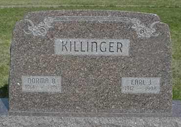 KILLINGER, NORMA B. - Greeley County, Nebraska | NORMA B. KILLINGER - Nebraska Gravestone Photos