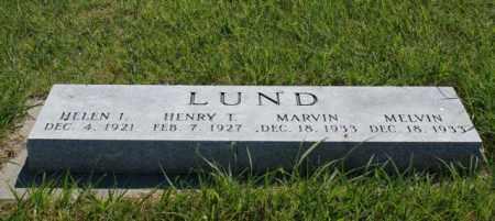 LUND, MARVIN - Greeley County, Nebraska | MARVIN LUND - Nebraska Gravestone Photos