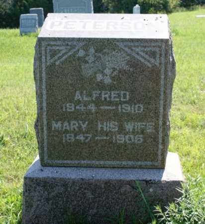PETERSON, MARY - Greeley County, Nebraska   MARY PETERSON - Nebraska Gravestone Photos