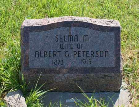 PETERSON, SELMA M. - Greeley County, Nebraska | SELMA M. PETERSON - Nebraska Gravestone Photos