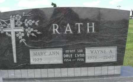 RATH, MARY ANN - Greeley County, Nebraska | MARY ANN RATH - Nebraska Gravestone Photos
