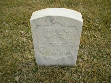 BENEDICT, JOHN WESLEY - Hall County, Nebraska   JOHN WESLEY BENEDICT - Nebraska Gravestone Photos