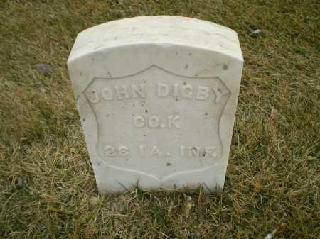 DIGBY, JOHN - Hall County, Nebraska | JOHN DIGBY - Nebraska Gravestone Photos