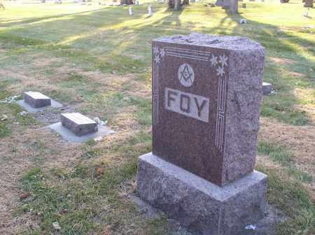 FOY, FAMILY - Hall County, Nebraska   FAMILY FOY - Nebraska Gravestone Photos