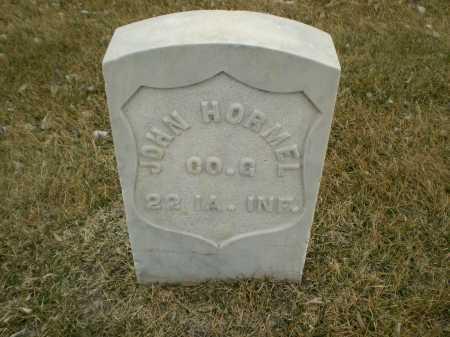 HORMEL, JOHN - Hall County, Nebraska | JOHN HORMEL - Nebraska Gravestone Photos