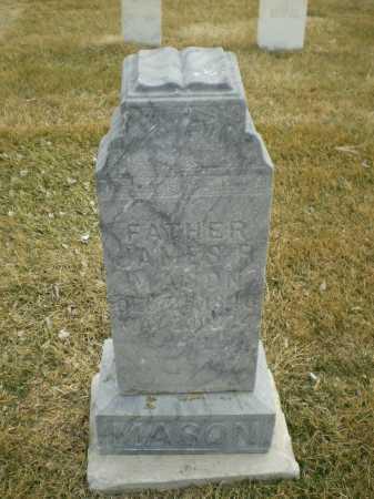 MASON, JAMES R - Hall County, Nebraska | JAMES R MASON - Nebraska Gravestone Photos