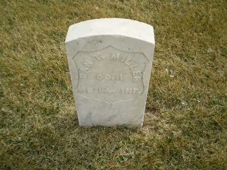MILLER, DANIEL T - Hall County, Nebraska | DANIEL T MILLER - Nebraska Gravestone Photos