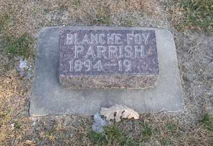 PARRISH, BLANCHE FOY - Hall County, Nebraska | BLANCHE FOY PARRISH - Nebraska Gravestone Photos