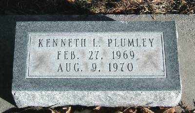 PLUMLEY, KENNETH L - Hall County, Nebraska | KENNETH L PLUMLEY - Nebraska Gravestone Photos