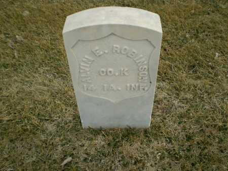 ROBINSON, ALVIN E - Hall County, Nebraska   ALVIN E ROBINSON - Nebraska Gravestone Photos