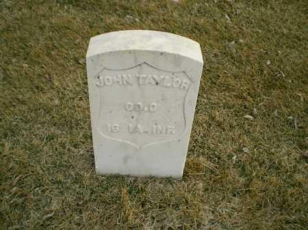 TAYLOR, JOHN - Hall County, Nebraska | JOHN TAYLOR - Nebraska Gravestone Photos