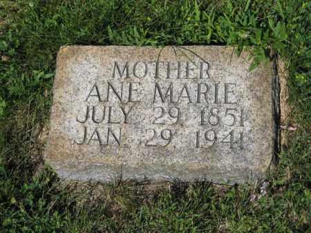 ANDERSEN, ANE MARIE - Hamilton County, Nebraska | ANE MARIE ANDERSEN - Nebraska Gravestone Photos