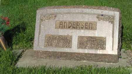 ANDERSEN, K. MATHILDE - Hamilton County, Nebraska | K. MATHILDE ANDERSEN - Nebraska Gravestone Photos