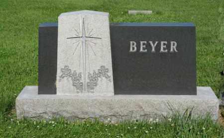 BEYER, FAMILY - Hamilton County, Nebraska | FAMILY BEYER - Nebraska Gravestone Photos