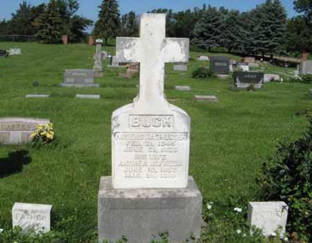 BUCK, ANDERS RASMUSSEN - Hamilton County, Nebraska | ANDERS RASMUSSEN BUCK - Nebraska Gravestone Photos