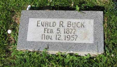 BUCK, EVALD R. - Hamilton County, Nebraska   EVALD R. BUCK - Nebraska Gravestone Photos